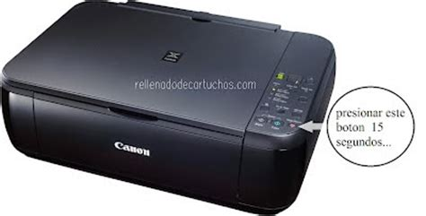 reset printer canon pixma how to reset the canon pixma mp280 printer en rellenado