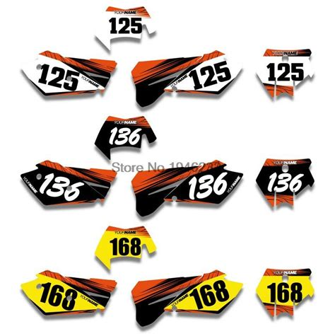 Ktm Decals Ktm Graphics 200 Exc Chinaprices Net