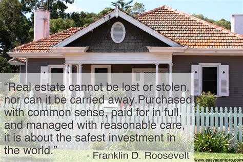 Real Estate Quotes Positive Quotesgram Real Estate About Us Real Estate
