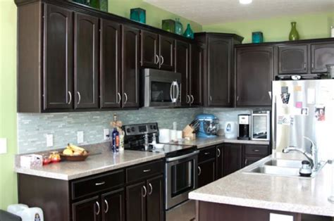 dark kitchen cabinets with light countertops dark kitchen cabinets for modern styled kitchen