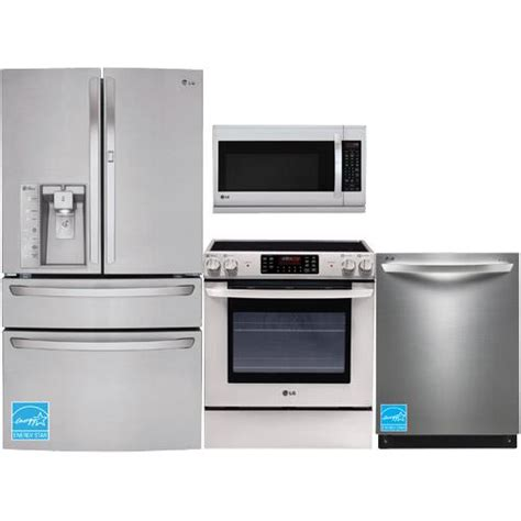 lg kitchen appliance package lg lfxs30766s stainless steel complete kitchen package