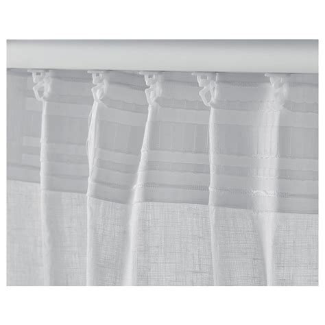 aina curtains aina curtains 1 pair white 145x250 cm ikea