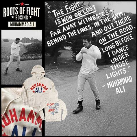 Muhammad Ali Back To His Roots by Roots Of Fight Muhammad Ali Stinger Pullover Hoodie