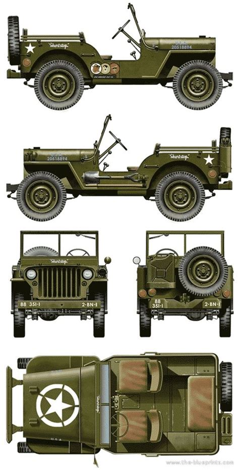 Willys Jeep Plans Best 25 Willys Mb Ideas On