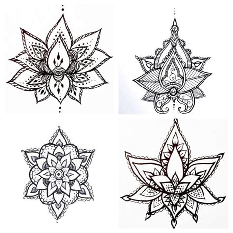 geometric tattoo vorlagen tatouage temporaire lucky dip secondes black lotus g 233 om 233 trique