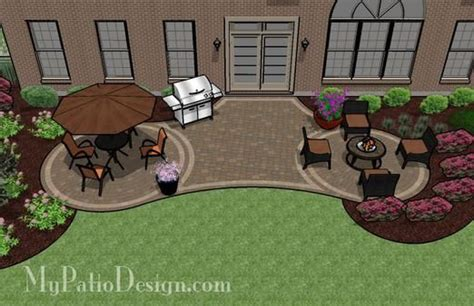 patio design plans home