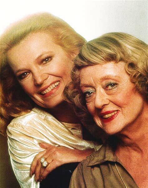 Bette Davis Daughter by Quot You Re No Spring Chicken Quot Bette Davis Told Gena Rowlands