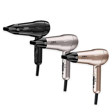 Hair Dryer Conair conair 174 mini pro tourmaline ceramic styler hair dryer