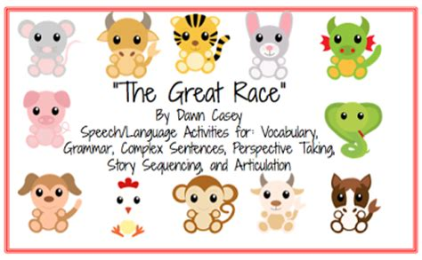 new year the animal race happy lunar new year power speech