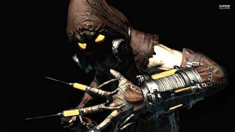 Batman Arkham Scarecrow batman trivia maxie zeus and scarecrow