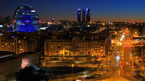 fondos de pantalla  espana madrid casa carreteras calle noche farola ciudades descargar