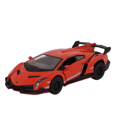 Miniatur Mobil Lamborghini Veneno Kinsmart Car Diecast Orange kinsmart die cast metal lamborghini veneno orange buy kinsmart die cast metal lamborghini