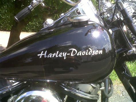 Harley Schriftzug Aufkleber by American Used Parts Gebraucht Neuteile F 252 R Harley