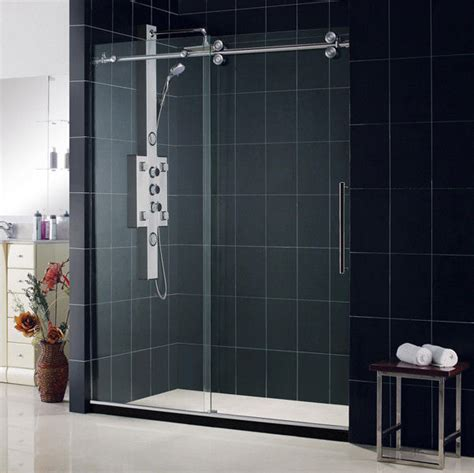 Shower Doors Ebay Dreamline 60 Quot X 79 Quot New Enigma 1 2 Quot Glass Frameless