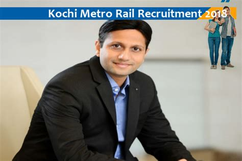 Internship For Mba Students In Kochi by Kochi Metro Rail Recruitment For Assistant Managers