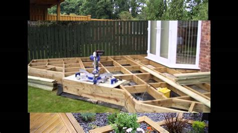 small easy garden ideas small garden decking ideas