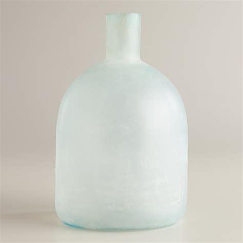 Sea Glass Vase by Large Wide Sea Glass Bottle Vase World Market