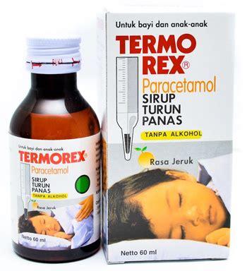 Termorex Plus Jeruk Syrup 30 Ml termorex sirup turun panas konimex pharmaceutical