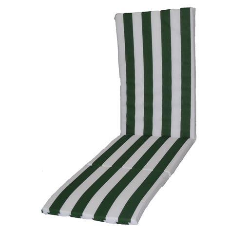 cuscino per sdraio cuscino per sdraio con prolunga bianco verde