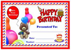 happy birthday certificate templates free happy birthday certificate templates free memes