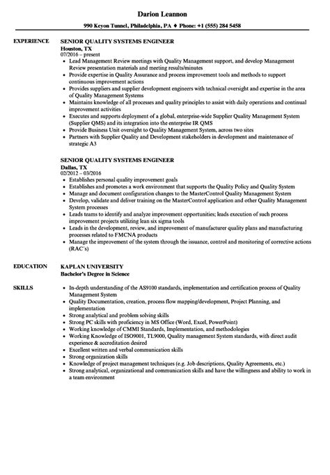 quality assurance resume samples visualcv resume samples database