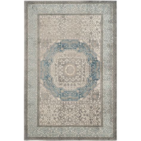 Rarea Rugs by Darby Home Co Sofia Light Gray Blue Area Rug Reviews
