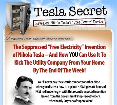 secret generator nikola tesla secret methods for generating free electricity