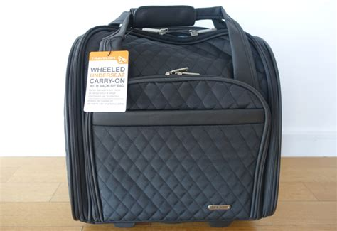best the seat luggage best carry on roller bag review of travelon wheeled