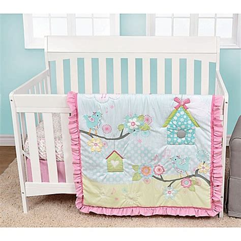 bed bath beyond baby baby s first by nemcor garden song crib bedding collection