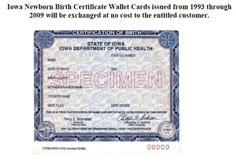 Iowa State Birth Records New Birth Certificates Needed For Thousands Of Iowans