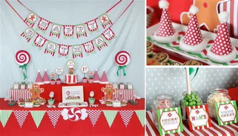 kara s party ideas christmas sweet shop girl boy 1st