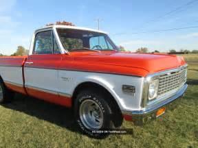 1972 chevrolet truck custom 10 deluxe