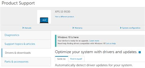 Dell Auto Detect Service Tag by 3 Ways To Download And Update Dell Xps 15 Drivers On