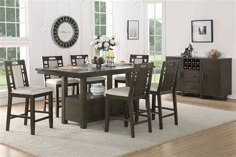 counter height dining room dining room counter height dining sets with leaf