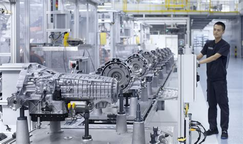 audi commences transmission production in china the