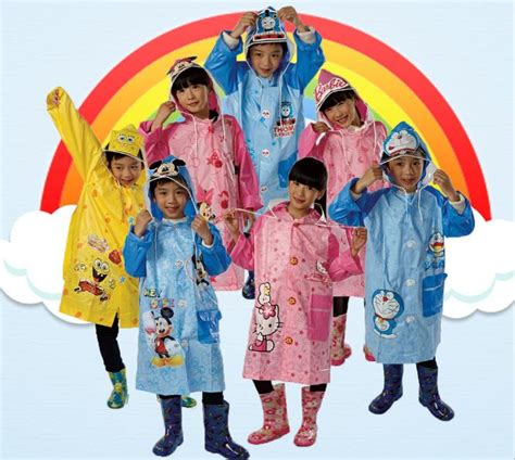 desain jas anak jas hujan anak size l pink jakartanotebook com