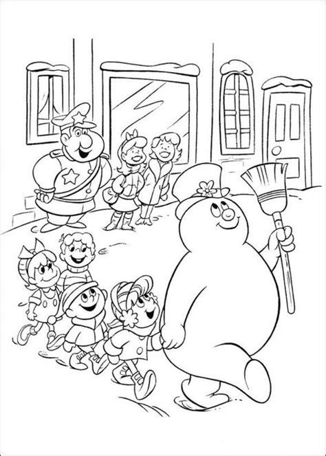 preschool coloring pages snowman 152 best images about preschool coloring pages on pinterest