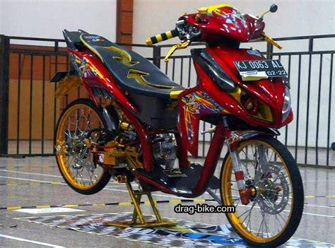 Modification Beat Merah by 80 Modifikasi Scoopy Fi Velg 14 Warna Merah Otomotif