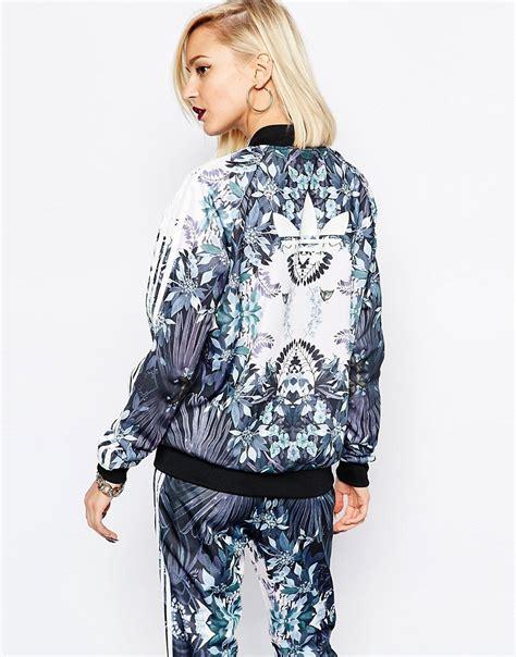 Jaket Adidas Floral adidas adidas originals florera floral track jacket