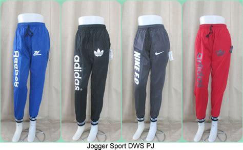 Celana Jogger Katun Murah Minimal Order 3pcs sentra grosir celana jogger sport dewasa trendy murah 31ribuan