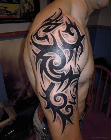 awesome tribal tattoos for guys 30 beautiful and creative tribal tattoos for and