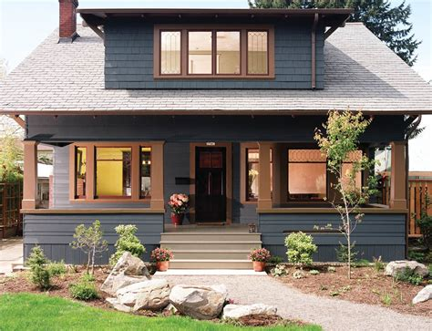 modern craftsman home plans paint modern house plan
