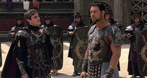 gladiator film character names gladiator joaquin phoenix russell crowe socialpsychol