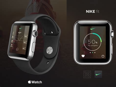 Smartwatch Nike nike running app concept by geo1 lab dribbble