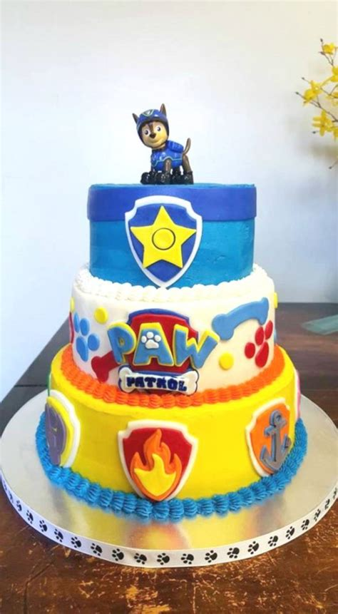 perfect paw patrol birthday cakes pretty  party party ideas