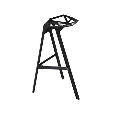 stool one black rental