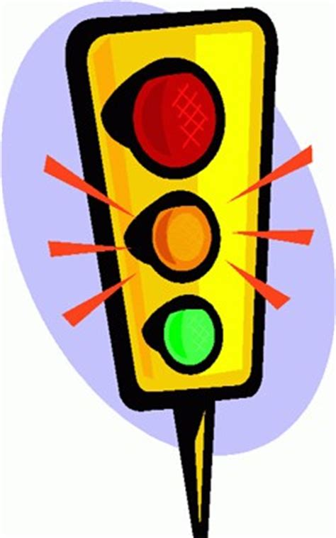 a yellow traffic light means stop the wheel