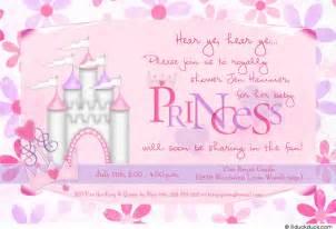princess baby shower invitation royal ultrasound photo