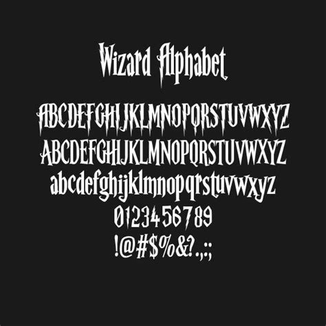 harry potter fonts 25 best ideas about harry potter font on