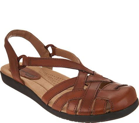 closed sandals earth origins leather closed toe sandals nellie page 1